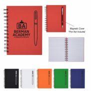 Magnetism Spiral Notebook