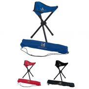 Folding Tripod Promotional Chair With Carrying Bag