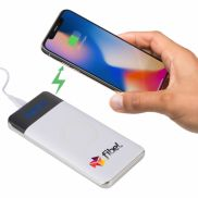 Constant 10000 mAh Wireless Power Bank w/ Display