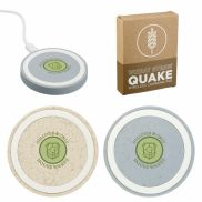 Wheat Straw Quake Wireless Charging Pad
