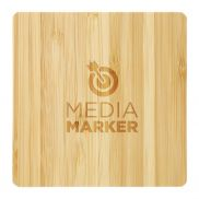 Bamboo Wireless Charging Pad with Dual Outputs