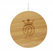 Bamboo MagClick® Fast Wireless Charging Pad