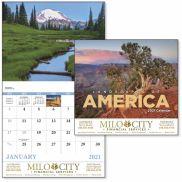 Landscapes of America - Stapled Calendar