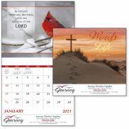 Words Of Life Stapled Calendar