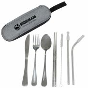 Stainless Steel Cutley Set in Pouch