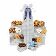 Ultimate Shimmering Sweets & Snacks Gourmet Tower