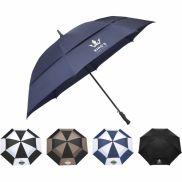 "62""  Auto Open Vented Golf Umbrella"