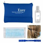 Disposable Mask & Sanitizer Kit