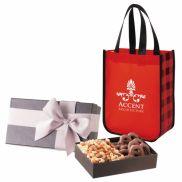 Executive Gift Set With Northwoods Laminated Tote Bag