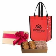 Executive Gift Set With Star Struck Laminated Tote Bag