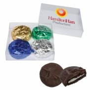 Chocolate Dipped Sandwich Cookie Gift Set
