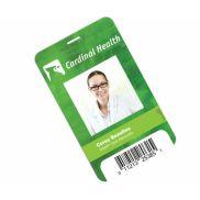 "Plastic Identification Badge - 3 5/8"" x 5 1/2"""