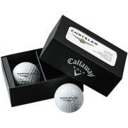 Callaway 2-Ball Business Card Box w/ Warbird Golf Balls