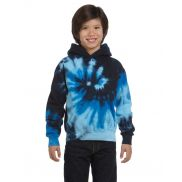 Youth 8.5 oz. Tie Dyed Pullover Hood