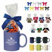 Ceramic Color Mug with Candy