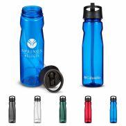 Columbia Tritan Water Bottle w/ Straw Top - 25 oz.