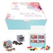 Cube Shaped 4 Pack Candy Set