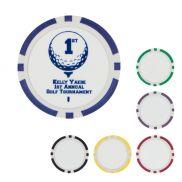 Poker Chip Golf Ball Marker