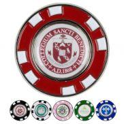 Metal Poker Chip Magnetic Ball Marker