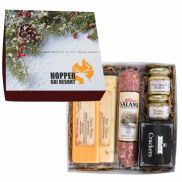 Deluxe Charcuterie Gourmet Meat & Cheese Gift Box