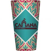 Full Color Sublimated Glass Pint - 16 oz.