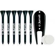 6 Tall Tees/1 Dovit Tool/2 Golf Ball Markers Packaged