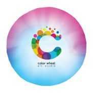"""Colorfusion 60"""" Round Beach Towel"""