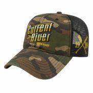 Woodland Camo with Soft Mesh Back Cap