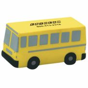 Flat Front School Bus Stress Reliever