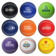 Baseball Shaped Stress Reliever