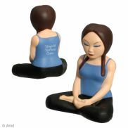 Yoga Girl Stress Reliever