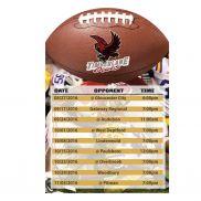 Football Schedule Magnet