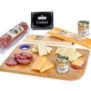 Charcuterie Favorites Board with Meat and Cheese Set