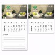 BIC Business Card Magnet w/ 12 Sheet Calendar