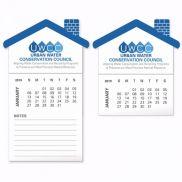 BIC Stock Shape Magnet w/ 12 Sheet Calendar