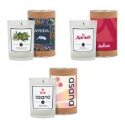 8 oz. Scented Tumbler Candle in Cardboard Gift Tube w/ Metal Lid
