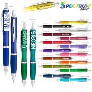 Translucent Curvaceous Ballpoint Promotional Pen