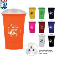Party Cup with Lid - 16 oz.