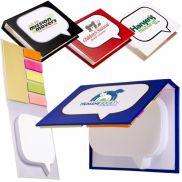 Logo-Burst Sticky Book