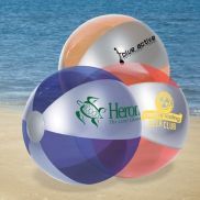 """10"""" Luster Tone Promotional Beach Ball"""