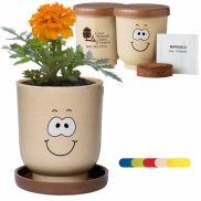 Goofy™ Grow Pot Eco-Planter W/ Marigold Seeds