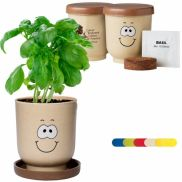 Goofy™ Grow Pot Eco-Planter W/ Basil Seeds