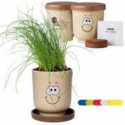 Goofy™ Grow Pot Eco-Planter W/ Chive Seeds