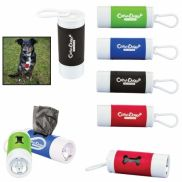 Pet Waste Bag Dispenser w/ Flashlight