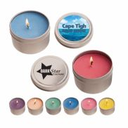 Candle in Round Tin - 4 oz.