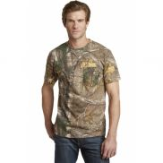 Russell Athletic Realtree Explorer Short Sleeve T-Shirt with Pocket