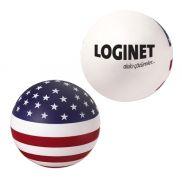 USA Round Ball Stress Ball