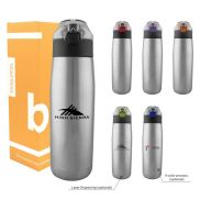 Double Wall Stainless Steel Bottle - 24 oz.