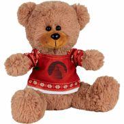 "8"" Ugly Sweater Sitting Plush Bear"
