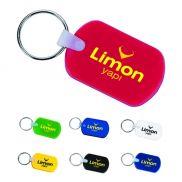 Rectangular Soft Promo Keychain